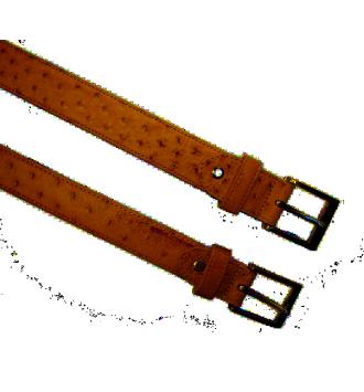 0350 Belt in Ostrich