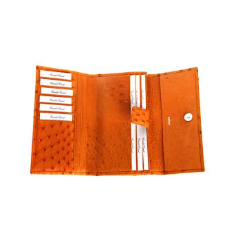 0971 Wallet in Ostrich