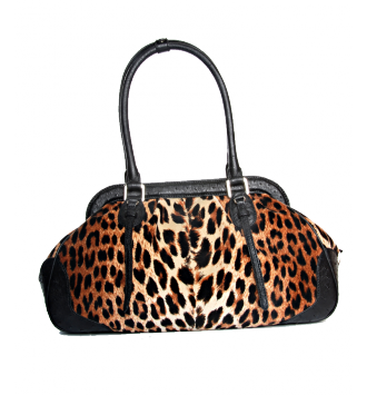 The 1818 Bag in Leopard Chaquard