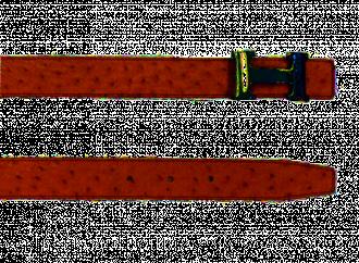 H Belt in Ostrich