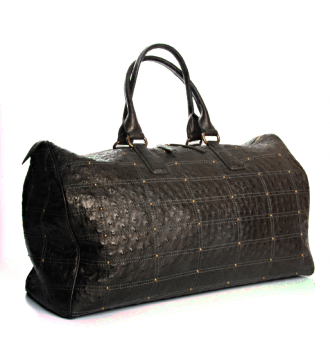 The 1878 Travel Bag in Ostrich