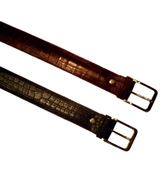 0350 Belt in Crocodile