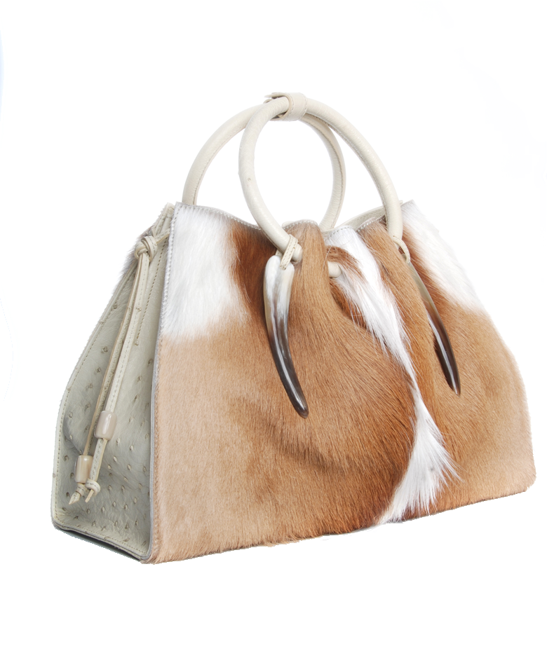 The 1306 Bag In Springbok Ostrich